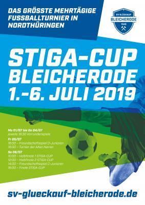 Vorschaubild zur Meldung: GÄNDERT AM 28.06.2019: 1. Bleicheröder Stiga-Cup – Ablaufplan