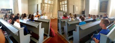 Vorschaubild zur Meldung: Kirchenführung in der Golßener Kirche