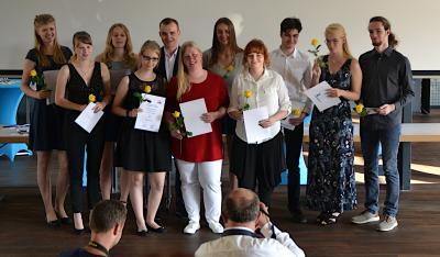Vorschaubild zur Meldung: Beste Abiturienten der Stadt Brandenburg 2019 geehrt