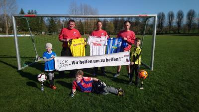 """Vorschaubild zur Meldung: 2. """"Kick for Kids Cup"""", mit Rekorderlös von über 5400€"""