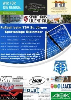 Foto zur Meldung: Ab 15.06.2019: Fußballturniere beim TSV
