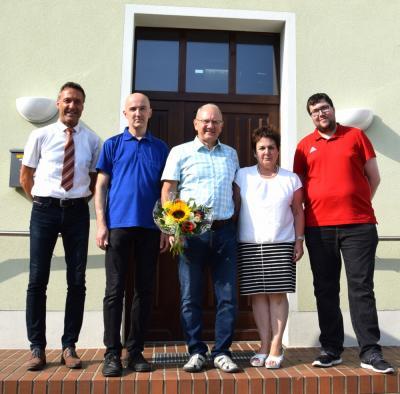 Vorschaubild zur Meldung: Dietmar Woznica ist weiterhin Ortsvorsteher in Klettwitz
