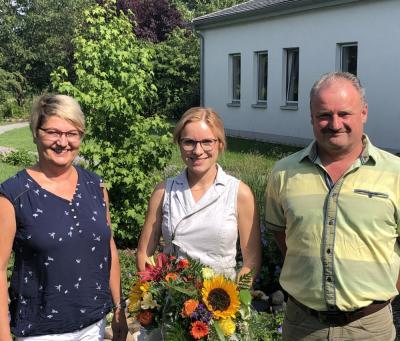 Vorschaubild zur Meldung: Anne Herrmann bleibt Ortsvorsteherin in Schipkau