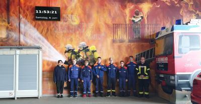 Vorschaubild zur Meldung: Jugendfeuerwehr Neupetershain zu Pfingsten im Spree – Neiße – Kreis