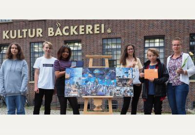 Vorschaubild zur Meldung: 7 LSB erhält den Jugendkunstpreis 2019