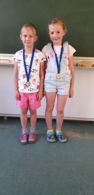 Foto zur Meldung: Zehn Medaillen im Gerätturnen