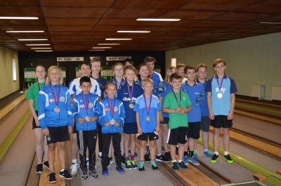 Foto zur Meldung: 22. Kinder- und Jugendsportspiele im Landkreis OSL - Kegeln-Bohle