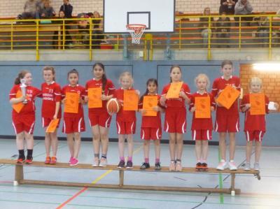 Vorschaubild zur Meldung: Sieg der Mädchen am 26. März 2019 bei den Basketballkreismeisterschaften