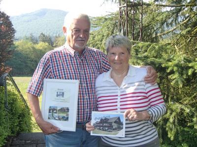 Das Ehepaar Wolfgang und Karin Scheuermann aus Ludwigshafen
