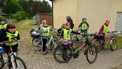 Foto zur Meldung: Hurra!  Radfahrprüfung geschafft