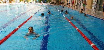 Foto zur Meldung: Erfolgreicher Abschluss des Schulschwimmens der Drittklässler