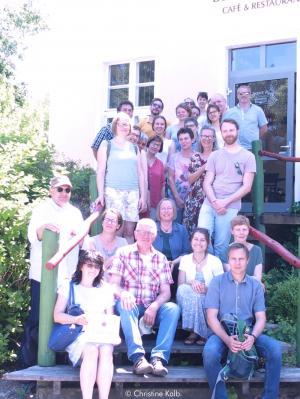 Gruppenfoto der Teilnehmer der LEADER-Exkursion © Christine Kalb