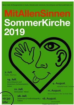 Vorschaubild : Einladung zur Sommerkirche 2019