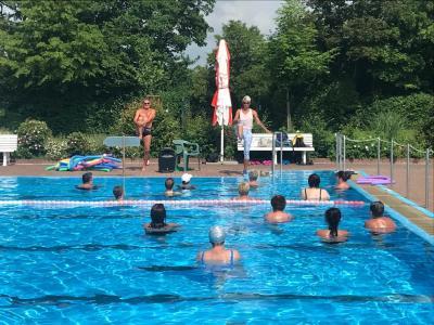 Foto zur Meldung: Aqua-Gymnastik im Freibad nächster Termin: Freitag, 23.08.19, 11.00 Uhr