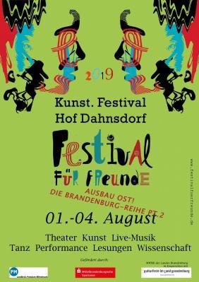 Bild der Meldung: Festival Für Freunde 2019 - Das komplette Programm