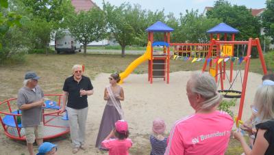 Foto zu Meldung: Neuer Spielplatz für Busendorf