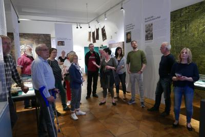 Vorschaubild zur Meldung: Besuch Sonderausstellung Klosterruine im Museum Steinheim