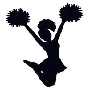 Foto zur Meldung: Auftritt der Cheerleader zum Sommerfest im Heimatmuseum
