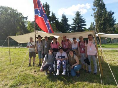 Foto zur Meldung: Ausflug zum Karl-May-Festival