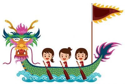 Vorschaubild zur Meldung: Drachenbootrennen der 4. Klassen
