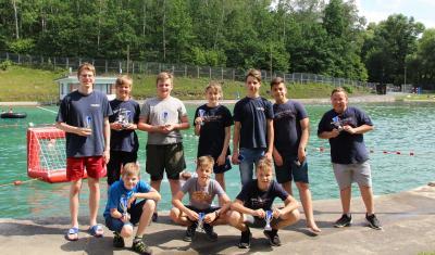 Foto zur Meldung: Wasserball U13 Bezirkspokal Südwestsachsen