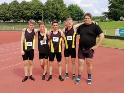 Die erfolgreichen Athleten in Hamm