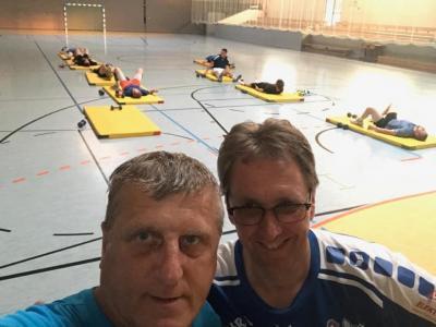 Vorschaubild zur Meldung: Handball: Vorbereitungsauftakt 2019