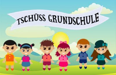 Foto zur Meldung: Verabschiedung der 4. Klassen aus der Grundschule