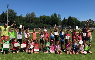 Die Sieger der Bundesjugendspiele der Grundschule 2019