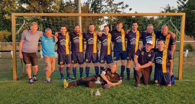 Foto zur Meldung: Fußball: Ü35 holt sich den Kreismeistertitel