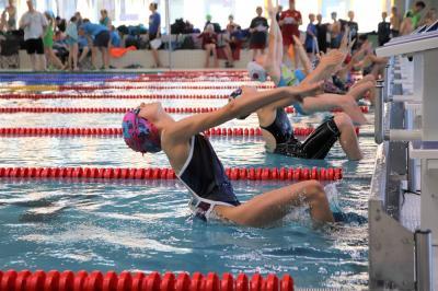Foto zur Meldung: Schwimmen Talentiade und Landesjugendspiele in Dresden