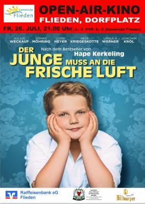 """Vorschaubild zur Meldung: Open-air-Kino """"Der Junge muss an die frische Luft"""" - Karten im Vorkauf im Rathaus!"""