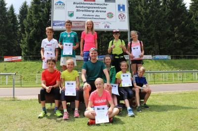 Foto zur Meldung: Thüringer Schüler Cup Biathlon Luisenthal