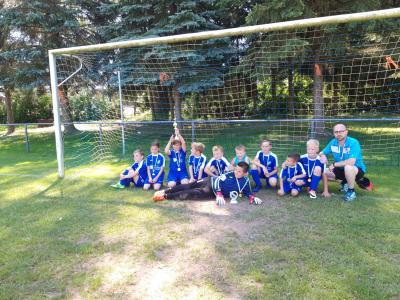 Foto zur Meldung: Fußball: Saisonrückblick F-Junioren