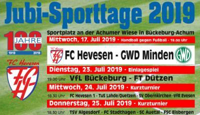 Foto zur Meldung: Jubiläums-Sporttage
