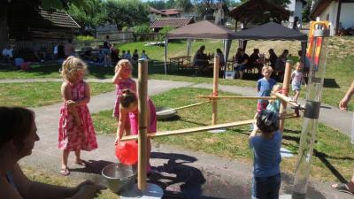 Foto zur Meldung: Gesundheits- und Grilltag im Kindergarten