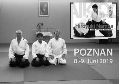 Vorschaubild zur Meldung: Aikido-Lehrgang mit Hiroyuki Namba