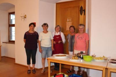 Vorschaubild zur Meldung: Kochabend beim Frauenbund