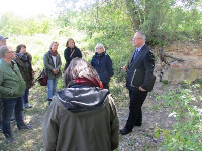 Vorschaubild zur Meldung: Stiftung Preußischer Schlösser und Gärten zu Besuch in Küstrin