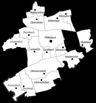 Ortsteile der Gemeinde Ilmtal-Weinstraße