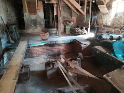 Arbeitseinsatz im Kellergeschoss