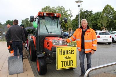 Foto zur Meldung: Letzte Tour für Hansi Stielow