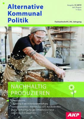 Titel Nachhaltig Produzieren