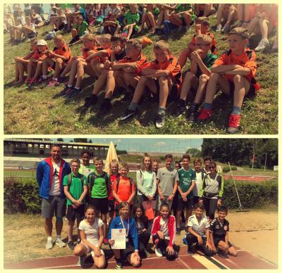 Unsere Leichtathleten aus der Grundschule und Mittelschule