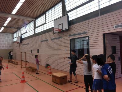 Foto zur Meldung: Grundschulsporttag 2019