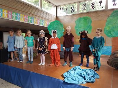 Vorschaubild zur Meldung: Die Nordschule begrüßt die Sommerferien und nimmt tränenreich Abschied von ihren 4. Klässlern!