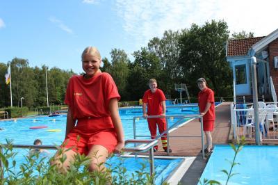 Foto zur Meldung: Junge Rettungsschwimmer der DLRG