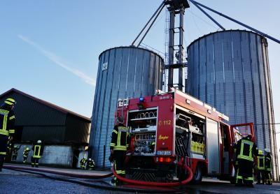 Foto zur Meldung: Feuer auf dem Cremberg – Schmalensee hilft