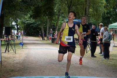 Vorschaubild zur Meldung: Eliah Rick läuft Vereinsrekord in Köln