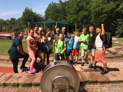 Foto zur Meldung: Radtour zum Wasserspielplatz im Enzauenpark am 18.07.2019